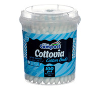 COMPACT COTTON BUDS 100'S