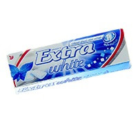 WRIGLEY'S EXTRA WHITE PEPERMINT-PELLETS
