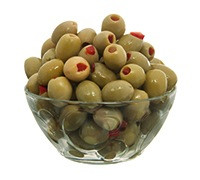 SPANISH STUFFED GREEN OLIVES- KG