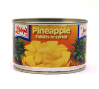 LIBBYS PINEAPPLE TIDBITS IN SYRUP 235G