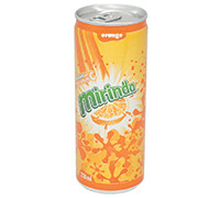 MIRINDA ORANGE FLAVOR CANS- 250 ML