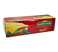GREENLAND CHEDDAR BLOCK CHEESE WITH PEPPER KG