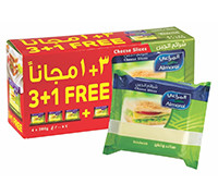 ALMARAI CHEESE SLICES SANDWICH 4PCSX200G