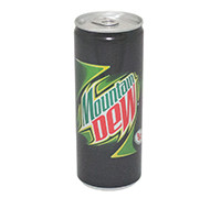MOUNTAIN DEW CANS- 250 ML