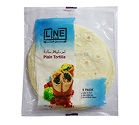 LINE PLAIN TORTILLA 5PCS 200G