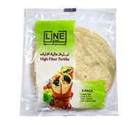 LINE HIGH FIBER TORTILLA 5PCS 200G