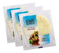 LINE ASSORTED TORTILLA BREAD 3PACK