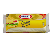 KRAFT CHEDDAR CHEESE SLICE ORIGINAL 400G