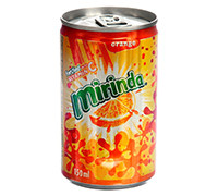 MIRINDA ORANGE CANS- 150 ML