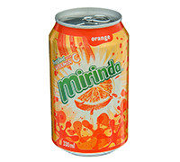 MIRINDA ORANGE CANS- 330 ML