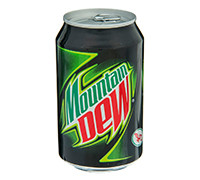 MOUNTAIN DEW CANS - 330 ML