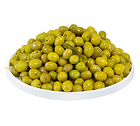 LEBANESE PREMIUM GREEN OLIVE WITH OIL KG