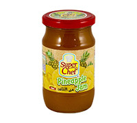 SUPER CHEF PINEAPPLE JAM 380 GM