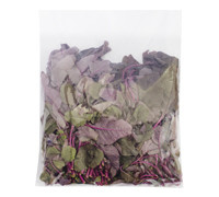 HERBS RED SPINACH BAG