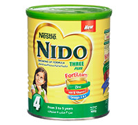 NIDO THREE PLUS FORTILEARN - GROWING UP FORMULA MILK - 400 G
