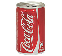 COCA COLA CANS- 150 ML