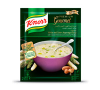 KNORR WHITE GREEN ASPARAGUS SOUP 40G