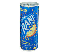 RANI FLOAT PINEAPPLE FRUIT DRINK- CAN 240 ML