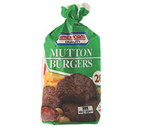 AMERICANA- MUTTON BURGER PACKETS- 1120 G