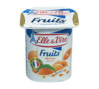 ELLE & VIRE DAIRY DESSERT ًWITH APRICOT- 125 G