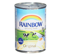 RAINBOW EVAPORATED MILK - EASY OPEN PACK- 410 G