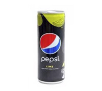 PEPSI BLACK LIME CANS 250ML
