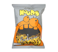 HECTARE'S P. SNKS HOOPS BBQ  30G