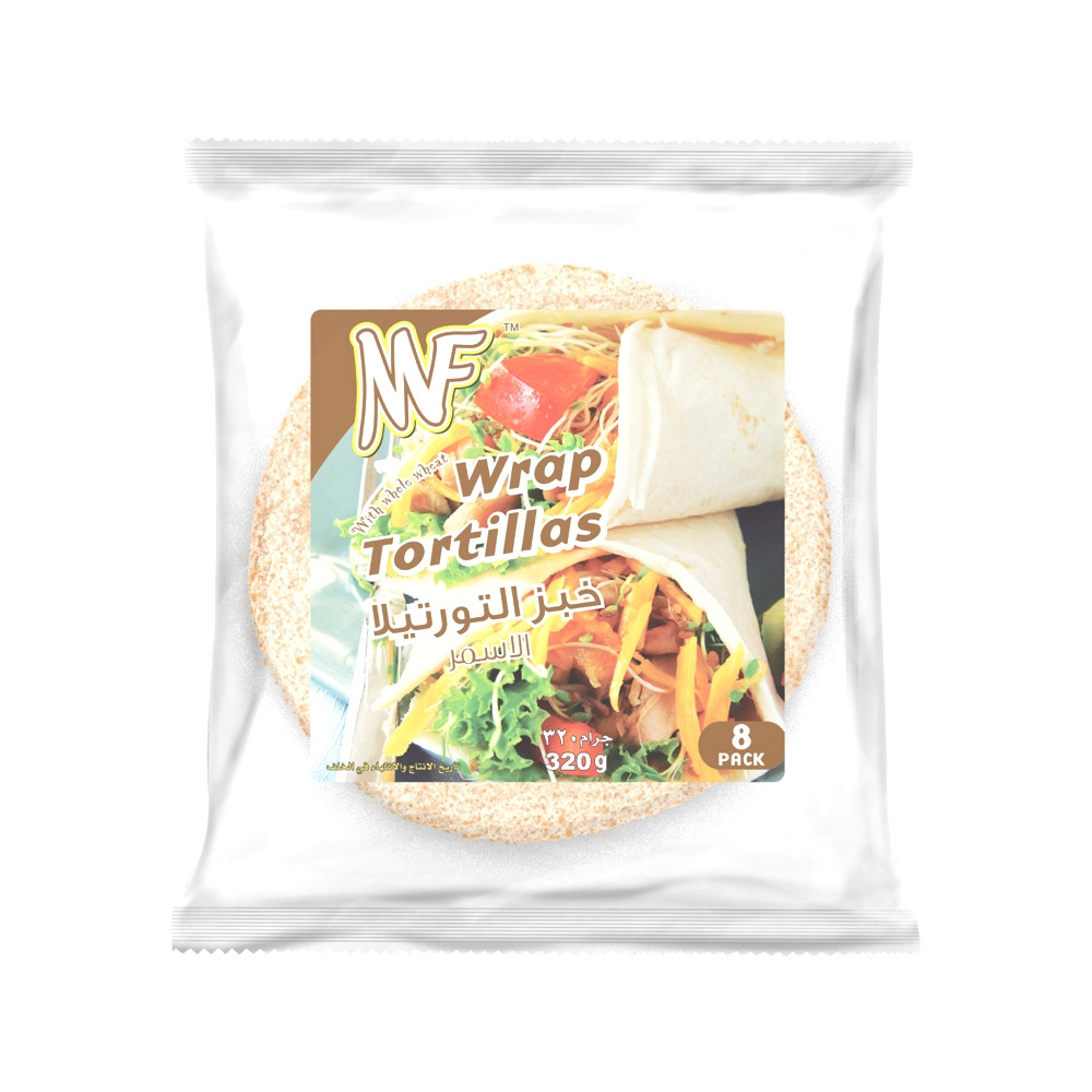 MF WHOLE WHEAT WARP TORTILLAS 320G