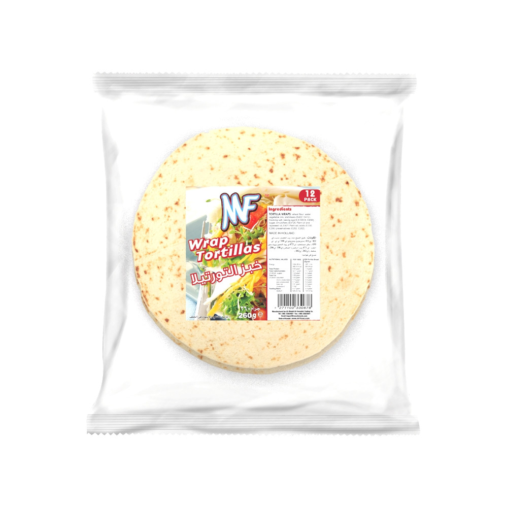MF WRAP TORTILLAS 260G