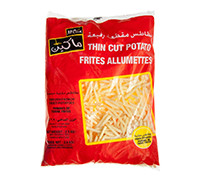 MCCAIN - SHOESTRING FRIES 6X6 MM - FAMILY SIZE 2.5 KG
