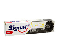 SIGNAL T PASTE COMPLEAT 8 CHARCOAL 100ML