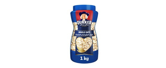 QUAKER WHOLE OATS (PET) 1KG