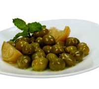 KUWAIT GREEN OLIVE WITH MIX KG