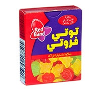 RED BAND JELLY TUTTI FRUTTI FRUITS- 18 G