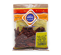 AHLIA RED CHILI LONG WHOLE 80G