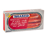SHAKER ANCHOVIES FILLETS 50 G