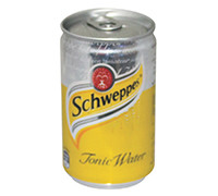 SCHWEPPES TONIC - CAN 150 ML