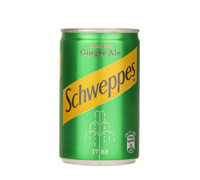 SCHWEPPES GINGER ALE- CAN 150 ML