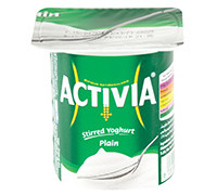 ACTIVIA- FULL FAT YOGURT - 125 G
