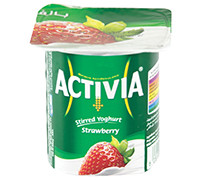 ACTIVIA YOGHURT WITH STRAWBERRY FLAVOR- 120 G